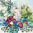 paper dasies and proteas      by ClairBremner