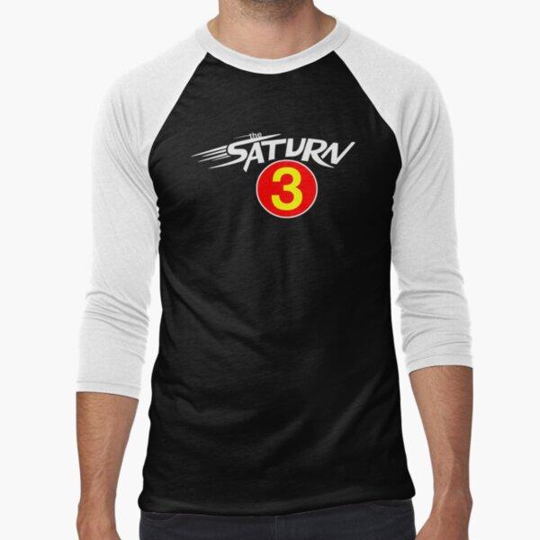 "The Saturn III - ""Mach 3"" Baseball ¾ Sleeve T-Shirt"
