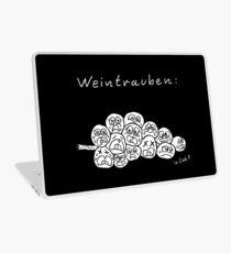 Weintrauben Laptop Skin