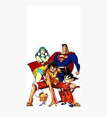 Super heroes Photographic Print