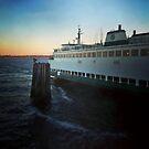 Washington Ferry from Seattle to Bremerton by rachro