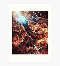 Tau - Krieger des Feuers Kunstdruck