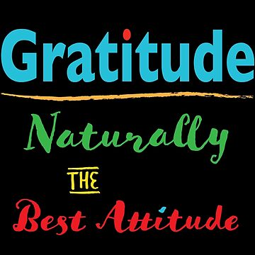 Gratitude and Attitude by ConsilienceCo