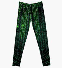 Matrix code Leggings