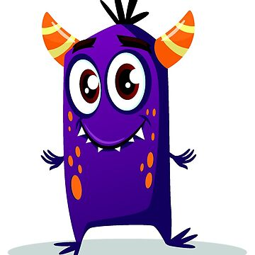 Cartoon cute monster set. Funny fantastic creatures with angry happy surprised emotions 004 by tato69