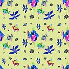 Tiny aquatic plants and animals by hdettman