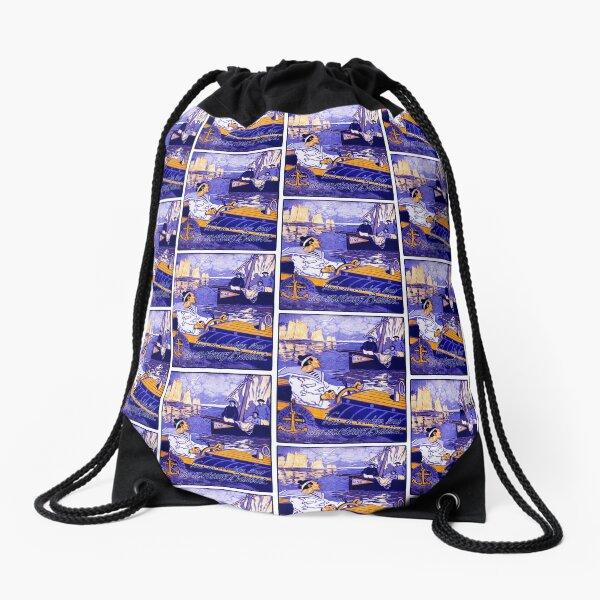 1910 Ballot Nautical Motors Drawstring Bag