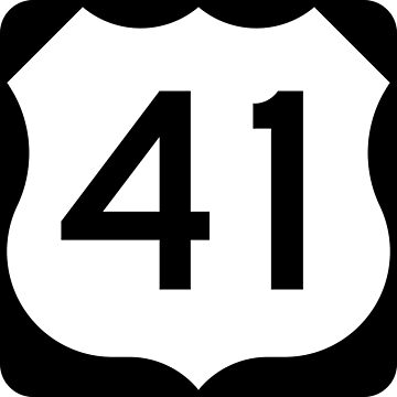 US Highway Route 41 by Joeybab3
