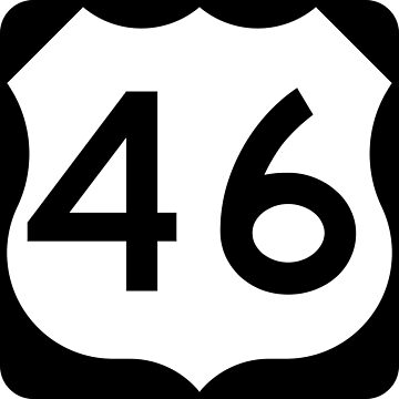 US Highway Route 46 by Joeybab3