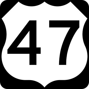 US Highway Route 47 by Joeybab3