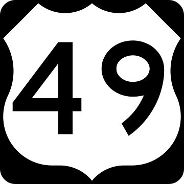 US Highway Route 49 by Joeybab3