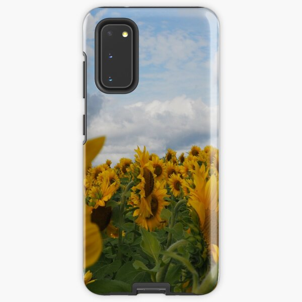 Sunflower Garden Samsung Galaxy Tough Case