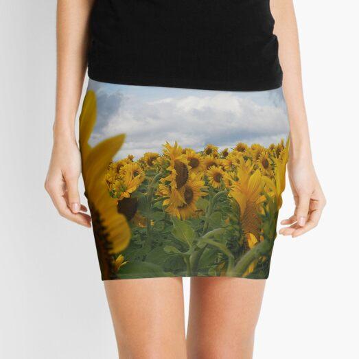 Sunflower Garden Mini Skirt