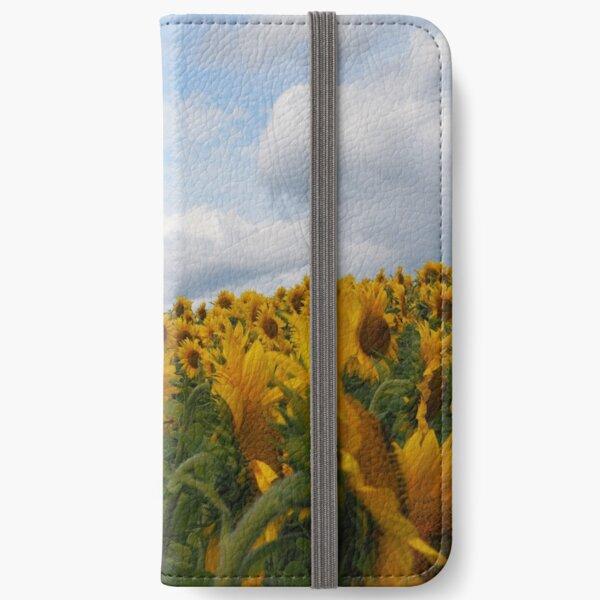 Sunflower Garden iPhone Wallet