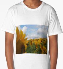 Sunflower Garden Long T-Shirt