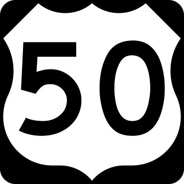 US Highway Route 50 by Joeybab3