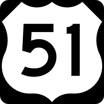 US Highway Route 51 by Joeybab3