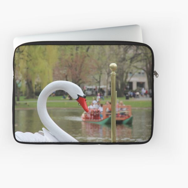 Boston Public Garden Swan Boats Laptop Sleeve