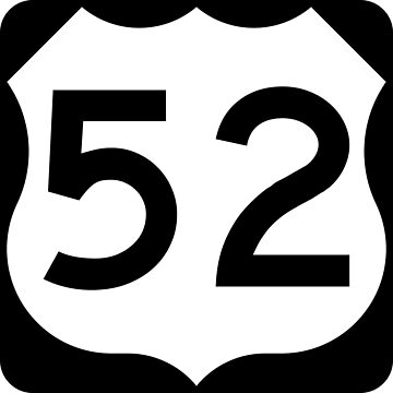 US Highway Route 52 by Joeybab3