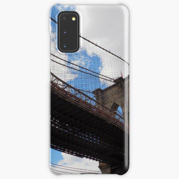 Brooklyn Bridge from DUMBO Samsung Galaxy Snap Case