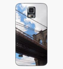 Brooklyn Bridge from DUMBO Case/Skin for Samsung Galaxy