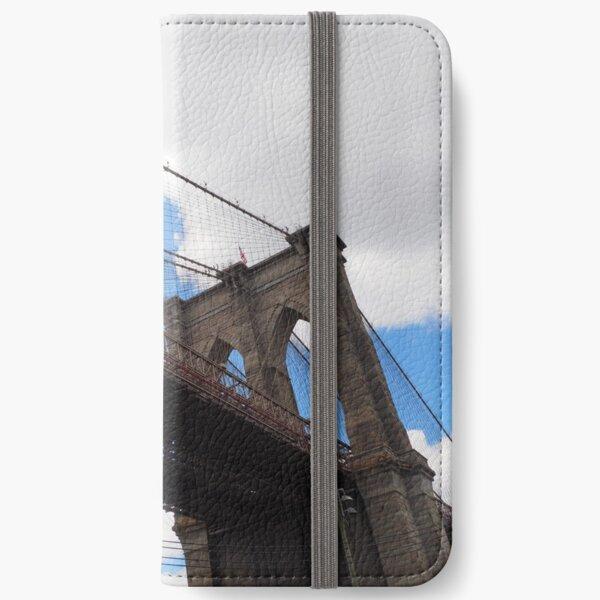 Brooklyn Bridge from DUMBO iPhone Wallet