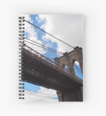 Brooklyn Bridge from DUMBO Spiral Notebook