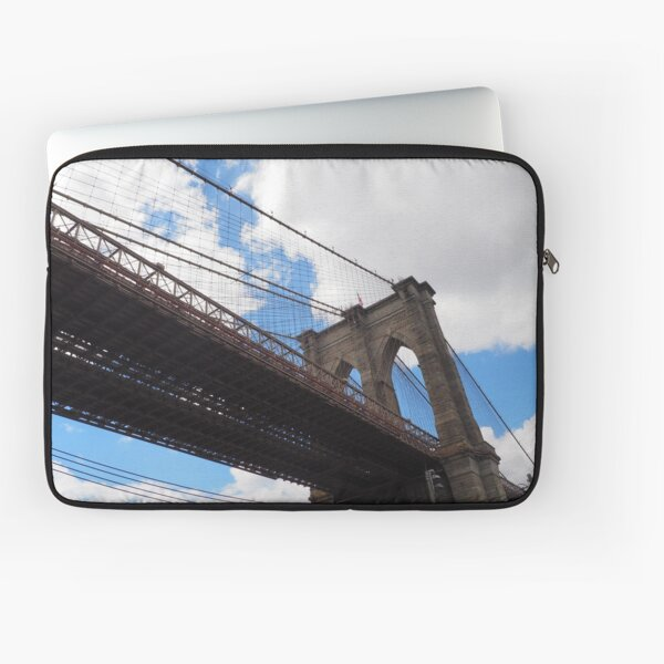 Brooklyn Bridge from DUMBO Laptop Sleeve