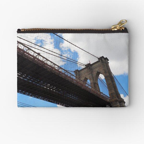 Brooklyn Bridge from DUMBO Zipper Pouch
