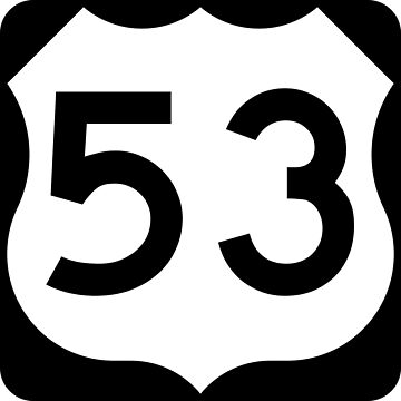 US Highway Route 53 by Joeybab3