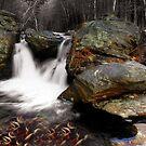 A Fall Fantasy - Mill Falls Mindscape by Wayne King
