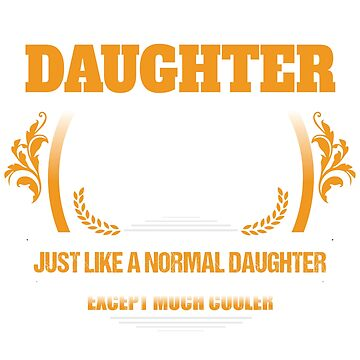 Theatre Daughter Christmas Gift or Birthday Present by epicshirts