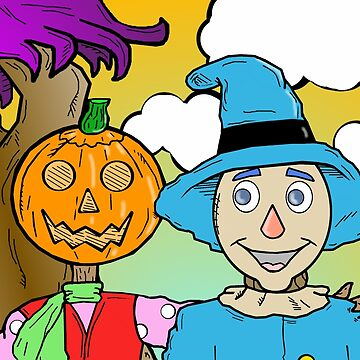 Jack And Scarecrow by FlyingDreamer