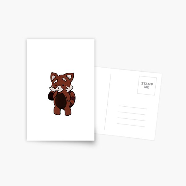 Jasper the red panda Postcard