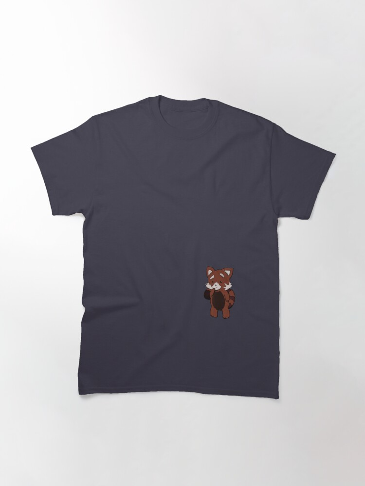Alternate view of Jasper the red panda Classic T-Shirt