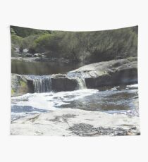 Waterfall on the moon Wall Tapestry