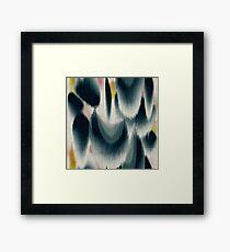 Shibori Wingspots Framed Print