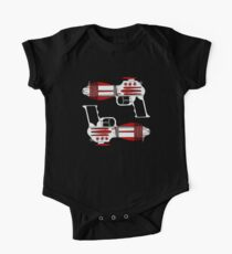 Retro Space Ray Guns by Chillee Wilson One Piece - Short Sleeve