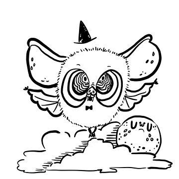 Halloween Batty by fluffymafi