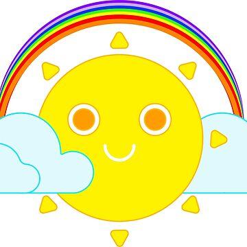 happy sun by colorsofcherry