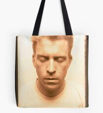 Self Portrait with White Shirt Tote Bag