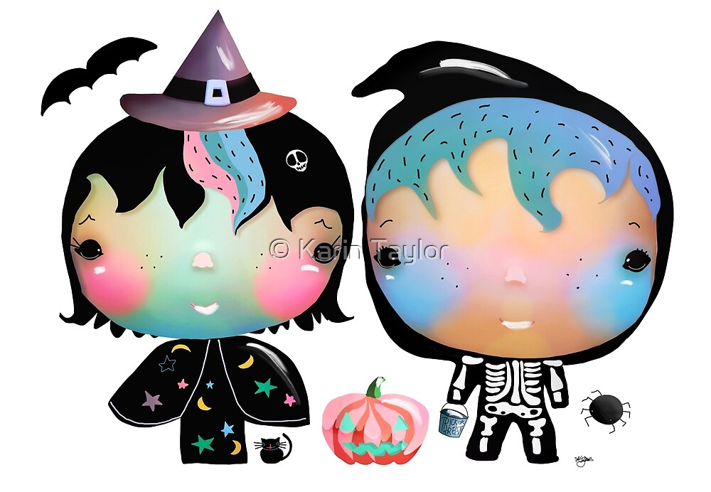 Trick or Treat by Karin Taylor