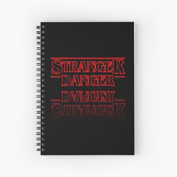 Stranger Danger Spiral Notebook