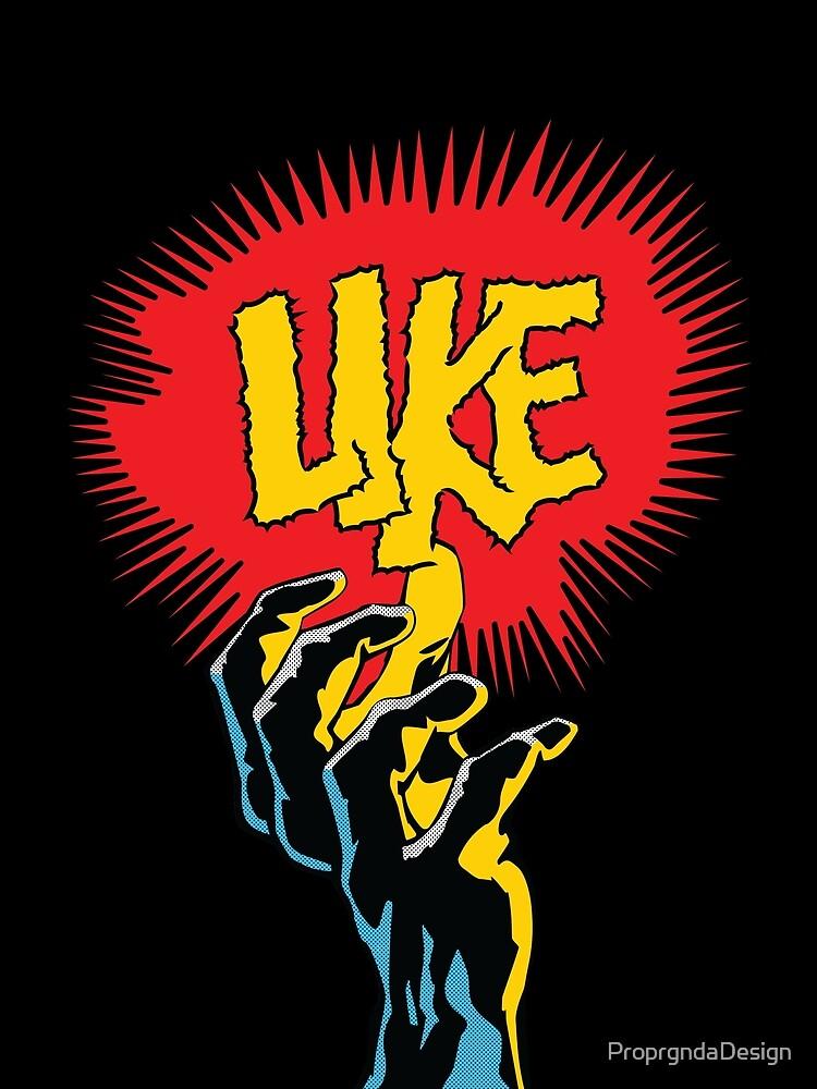 Comic Hands - Like by ProprgndaDesign
