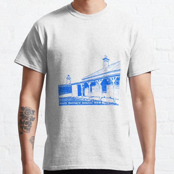 Lighthouse & Quarters - South Solitary Island Classic T-Shirt