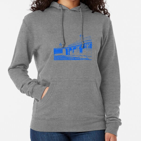 Lighthouse & Quarters - South Solitary Island Lightweight Hoodie