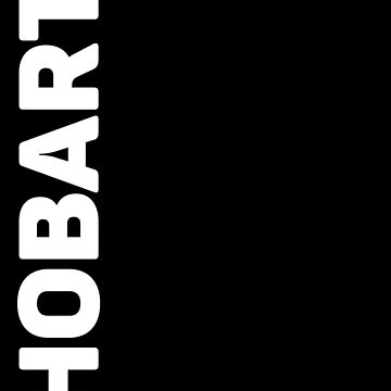 Hobart T-Shirt by designkitsch