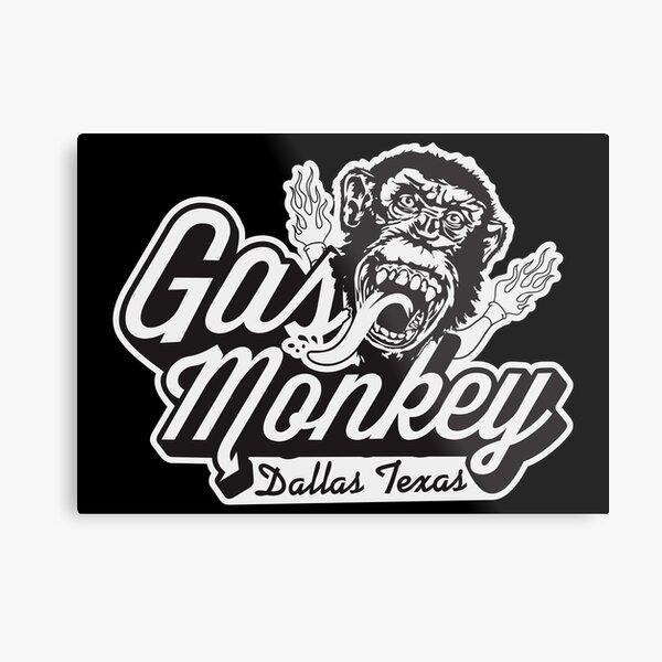 Gas Monkey Garage Metal Print