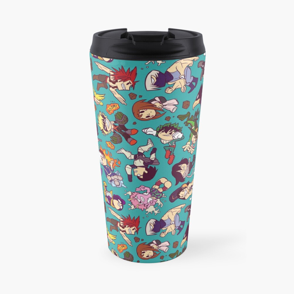Plus Ultra Pattern Travel Mug