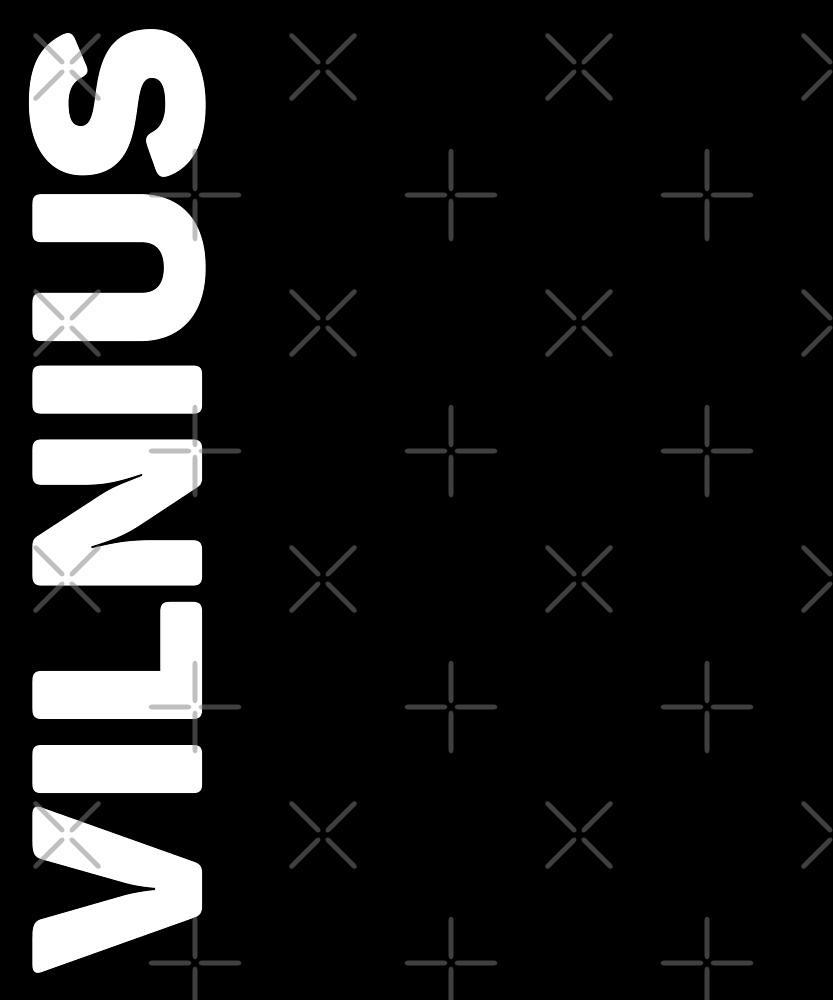 Vilnius T-Shirt by designkitsch